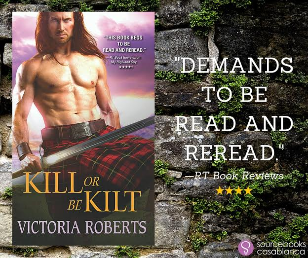 3 copies of MY HIGHLAND SPY by Victoria Roberts