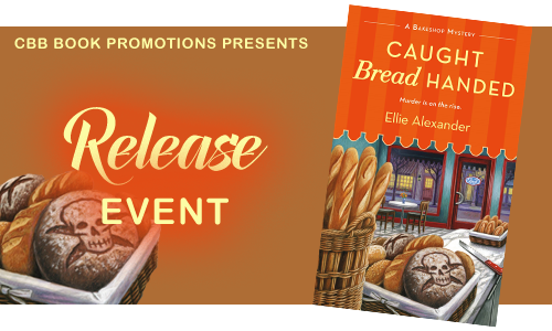 Signed copies of all 4 books in the Bakeshop Mysteries & Prize Pack