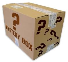 Mystery Box of Books written by men!