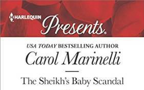 1 copy The Sheikh's Baby Scandal by Carol Marinelli