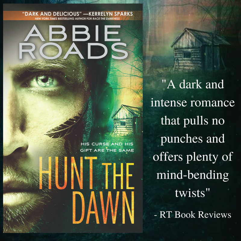 1 copy HUNT THE DAWN by Abbie Roads - US Only