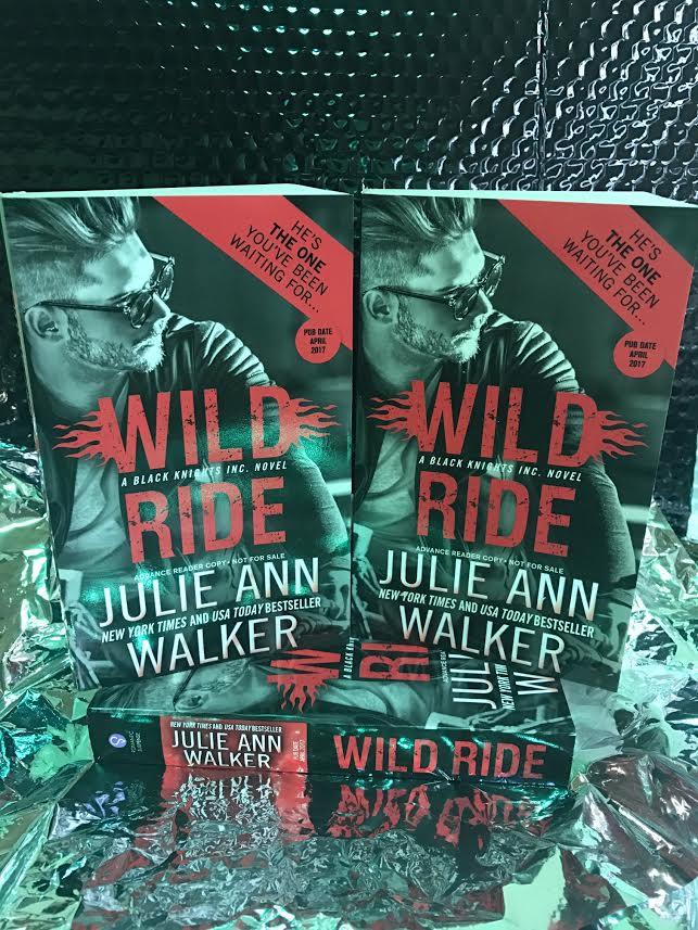win 1 of 3 ARCs WILD RIDE by Julie Ann Walker