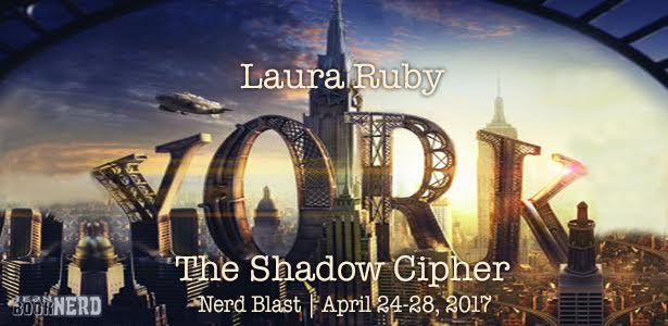 7 Winners will receive a Set Copy of YORK: THE SHADOW CIPHER by Laura Ruby