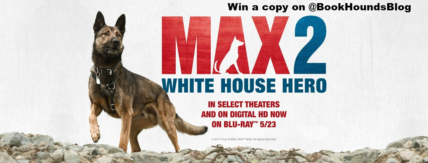1 copy DVD MAX 2 WHITE HOUSE HERO - US only