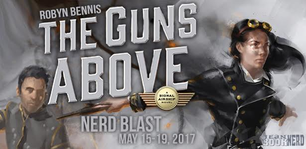 10 Winners will receive a Copy of The Guns Above by Robyn Bennis