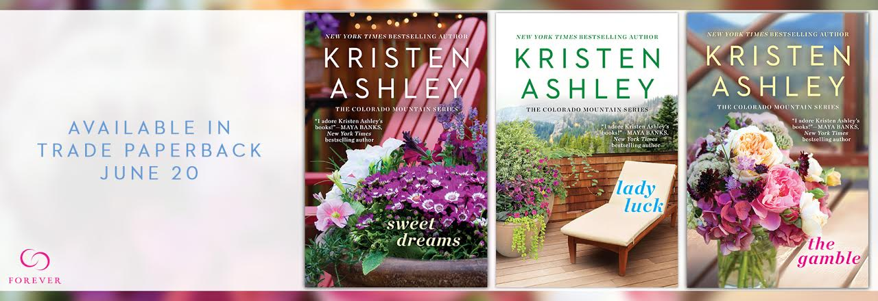 5 sets of THE GAMBLE, SWEET DREAMS, and LADY LUCK by Kristen Ashley