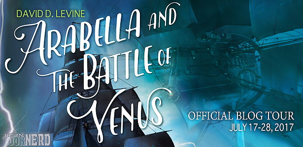 10 Winners will receive a copy of Arabella and the Battle of Venus by David D. Levine.
