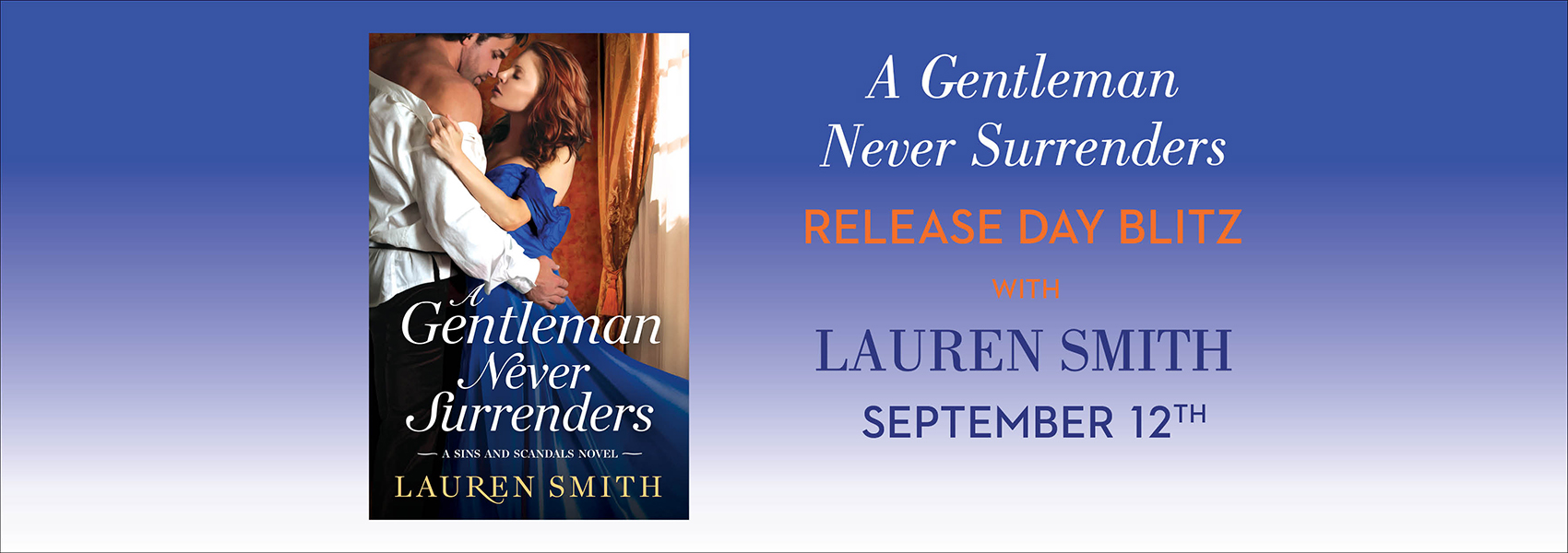 win 1 of 15 free ebook downloads of A Gentleman Never Surrenders!