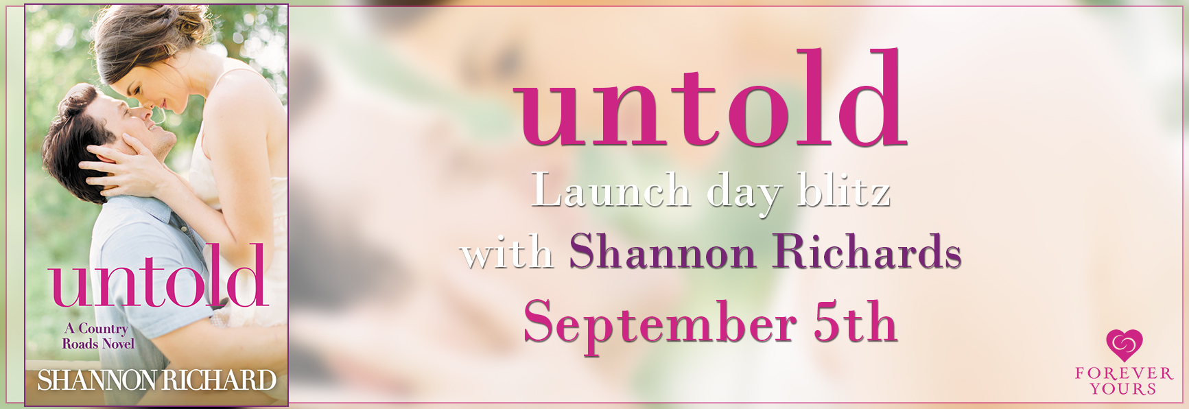 Enter to win 1 of 15 free ebook downloads of Untold!
