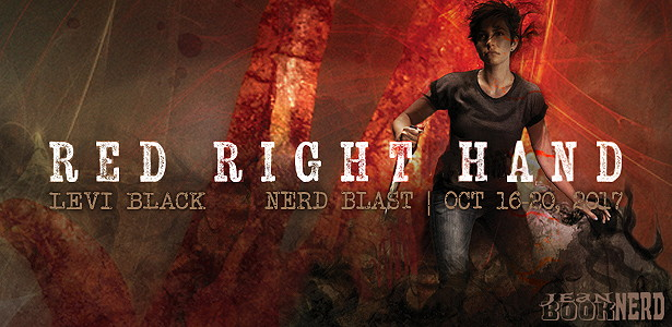 10 Winners will receive a Copy of Red Right Hand by Levi Black