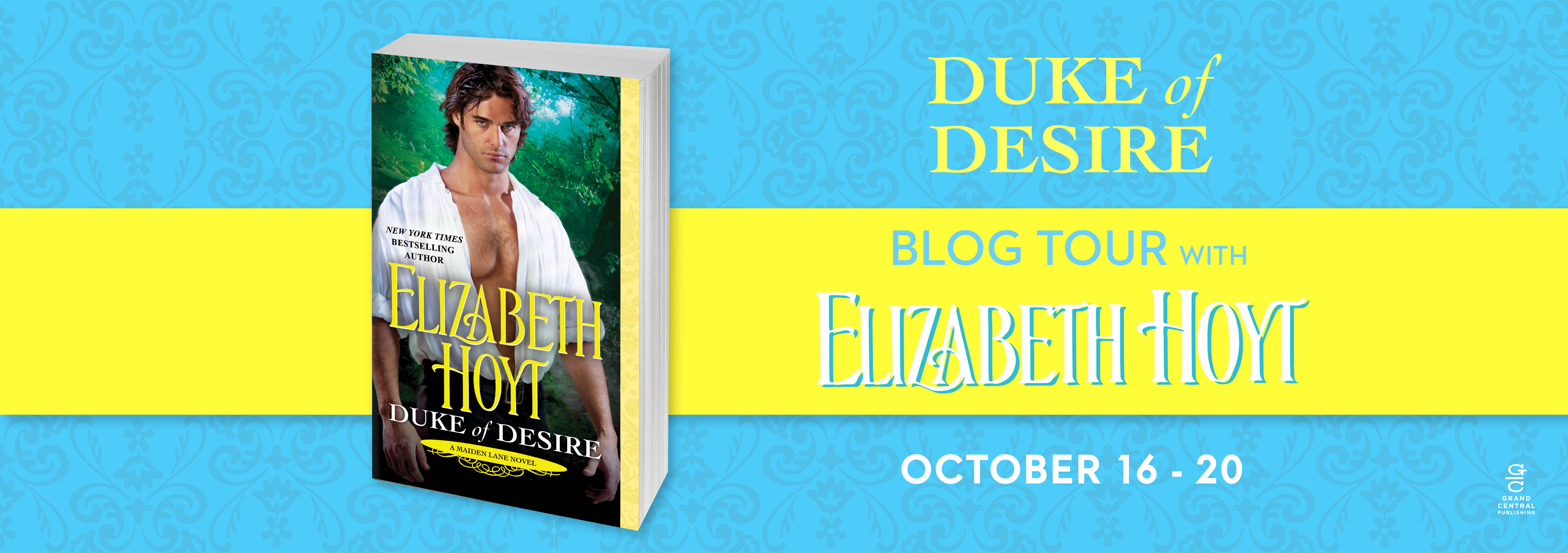 win 1 of 10 print copies of Duke of Desire:
